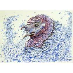 Paper Print - Gertrude van Turkey from Gobblempire