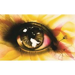 Paper Print - Eye of the Weed